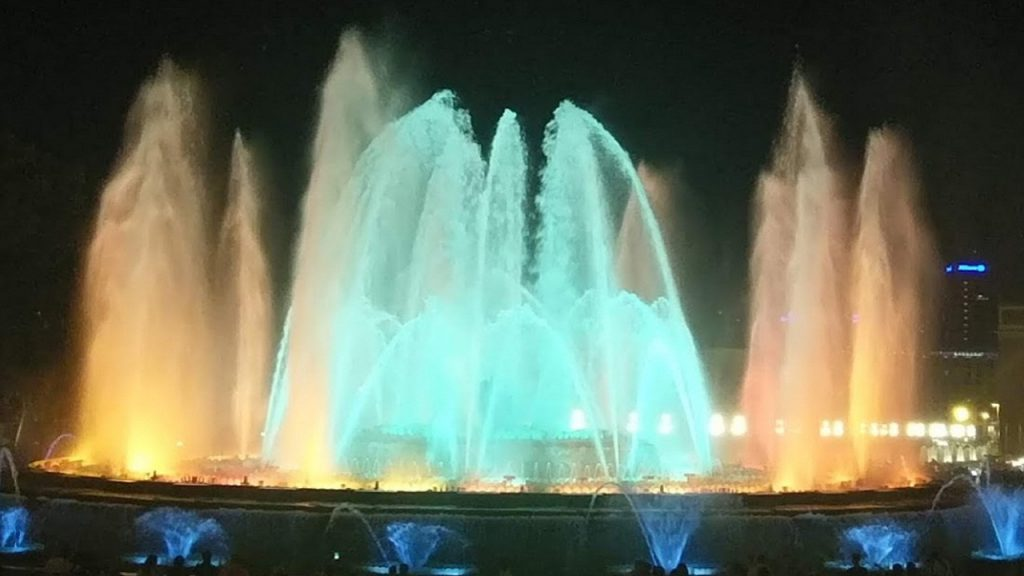 Magic Fountain of Montjuic, Spanyol